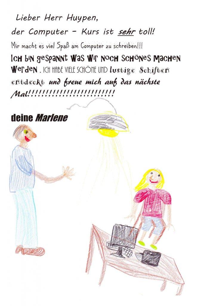Computerraum Marlene