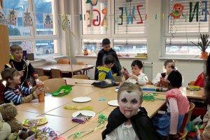 Karnevalsfeier an der KGS