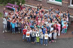 Verabschiedung der 4. Schuljahre