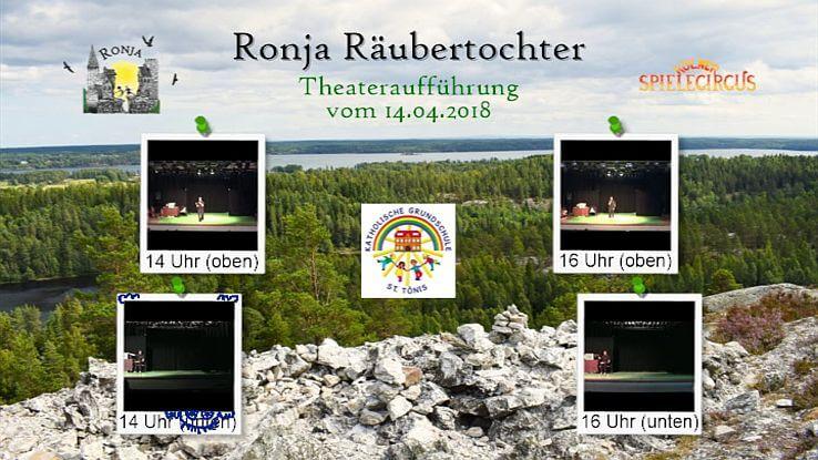 Menü DVD Ronja Räubertochter