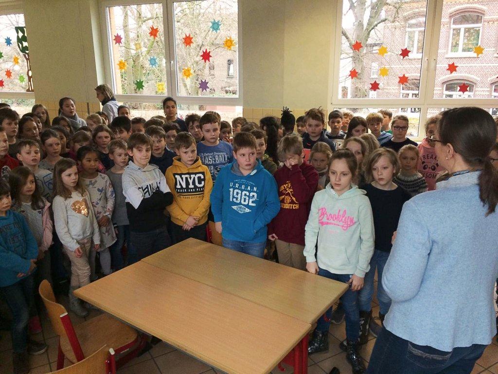 erfahren die Kinder die Ergebnisse des Heureka-Wettbewerbs.